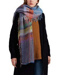 Wallace Sewell - Russell Basket-weave Wool Wrap - Lyst