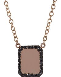Finn - Black Diamond & Rose Gold Looking - Lyst