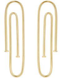 Jennifer Fisher - Long Pipe Earrings - Lyst