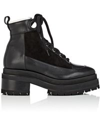 Pierre Hardy - Penny Leather & Suede Platform Ankle Boots - Lyst