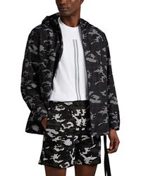 Neil Barrett - Camouflage Print Parka Jacket - Lyst