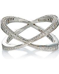 Cathy Waterman - Infinity Ring - Lyst