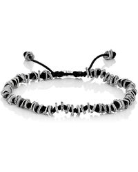 M. Cohen - Beaded Knotted Cord Bracelet - Lyst