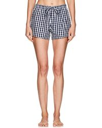 Sleepy Jones - Marina Gingham Cotton Pajama Shorts - Lyst
