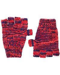 The Elder Statesman - Mélange Cashmere Fingerless Gloves - Lyst