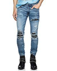 Amiri - Mx1 Inset Slim Jeans - Lyst