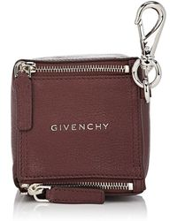 2d03374b07bd Givenchy Plexiglass Micro Pandora Box in Orange - Lyst