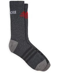Gosha Rubchinskiy - Logo Mid-calf Cotton-blend Socks - Lyst