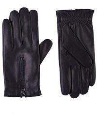 Barneys New York - Zip-cuff Gloves - Lyst