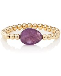 Beck Jewels - Xl Amethyst Becklette Bracelet - Lyst