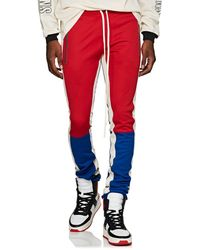 Fear Of God - Colorblocked Jersey Track Pants - Lyst
