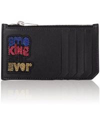 Saint Laurent - smoking Forever Leather Top-zip Card Case - Lyst