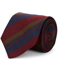 Bigi - Striped Silk Faille Necktie - Lyst