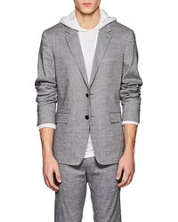 Theory - Gansevoort Linen-blend Two-button Sportcoat - Lyst
