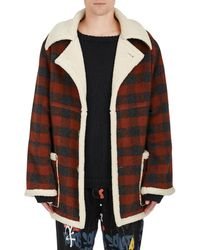 Stampd - Plaid Flannel Oversized Jacket - Lyst