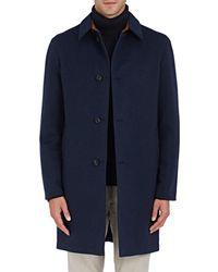 Barneys New York - Reversible Wool & Tech - Lyst