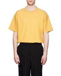 Vetements - Logo Cotton Oversized Inside-out T-shirt - Lyst