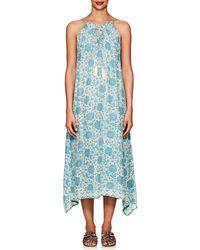 Natalie Martin - Marlien Floral Silk Maxi Dress - Lyst