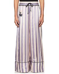 Off-White c/o Virgil Abloh - Thedrop@barneys: Striped Satin Wide - Lyst