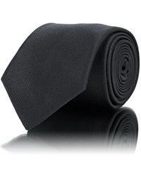 Brioni - Basket-weave Textured Silk Necktie - Lyst