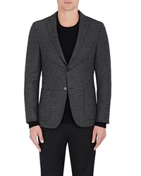 Officine Generale - Checked Wool Flannel Two - Lyst