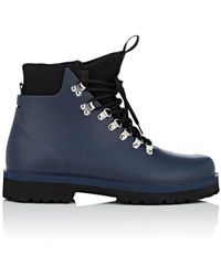 Barneys New York - Rubber & Neoprene Hiking Boots - Lyst