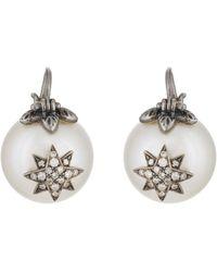 Samira 13 - Starburst Pearl Earrings - Lyst
