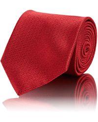 Brioni - Mini-square Silk Jacquard Necktie - Lyst