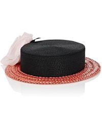 Albertus Swanepoel - 10th Anniversary Desborough Boater Hat - Lyst