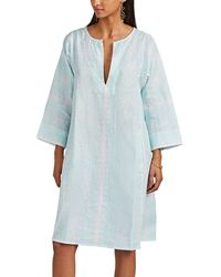 Thierry Colson - Talitha Floral Linen Caftan - Lyst