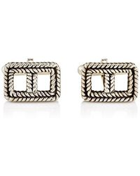Zadeh - Rectangular Cufflinks - Lyst