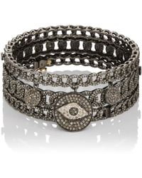 Carole Shashona - Wanderlust Protection Eye Bracelet Set - Lyst