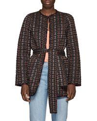 Ace & Jig Reversible Geometric-pattern Cotton Jacket
