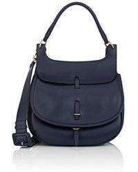 Fontana Milano 1915 - Chelsea Medium Leather Saddle Bag - Lyst