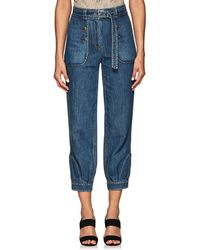Maison Mayle - Genie Denim Trousers - Lyst