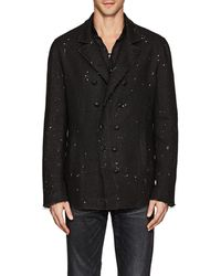 John Varvatos - Paint-splattered Linen Double - Lyst