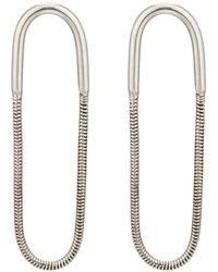 Pamela Love - Large Jetty Earrings - Lyst