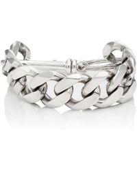 Martine Ali - Cuban-link Chain Bracelet - Lyst