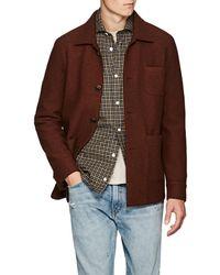 Eleventy - Boiled Wool Shirt Jacket - Lyst