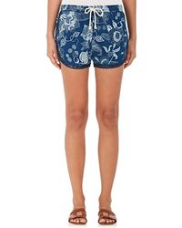 Warm - Chill Cotton Track Shorts - Lyst