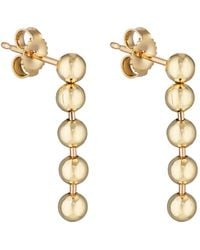 Finn - Short Ball Chain Earrings - Lyst