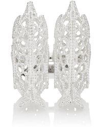 Natasha Zinko - Crochet Bird Knuckle Ring - Lyst