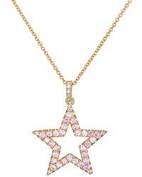 Jennifer Meyer - Open Star Pendant Necklace - Lyst
