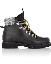 Barneys New York - Rubber Hiking Boots - Lyst