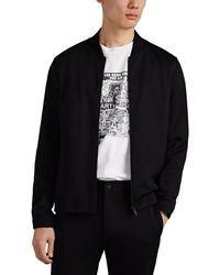 Theory - Side-striped Tech-ponte Track Jacket - Lyst