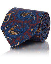 Petronius - Paisley Silk Faille Necktie - Lyst