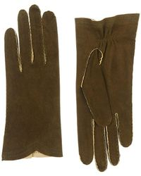Barneys New York - Deerskin Gloves - Lyst