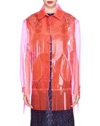 Maison Margiela - Western-inspired Polyurethane Jacket - Lyst