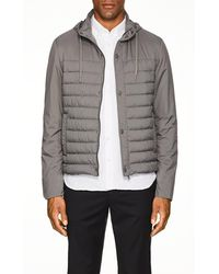 Herno - Hooded Tech-fabric Puffer Jacket - Lyst