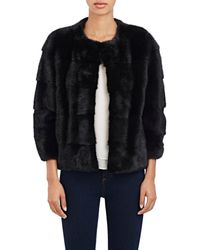Lilly E Violetta - Sara Fur Jacket - Lyst